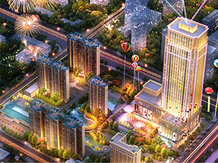 案例:郑州恒大绿洲恒大广场影城