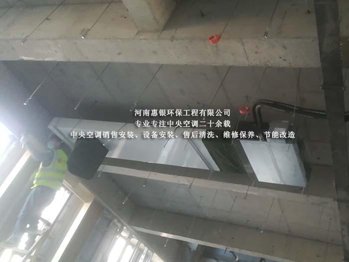 郑州中央空调安装,工业冷风机安装
