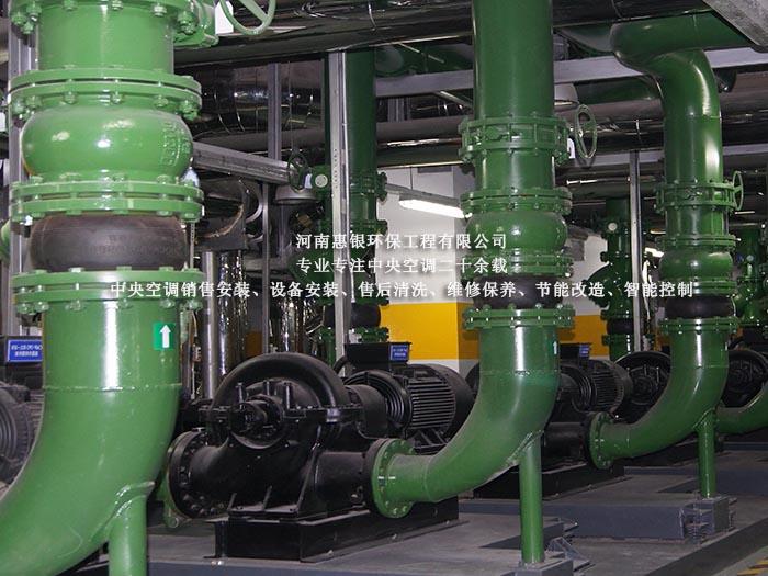 郑州中央空调,制冷系统主要结…